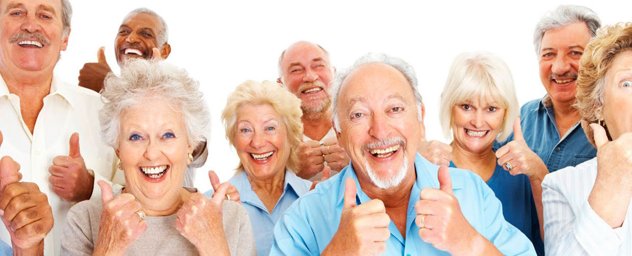 Group Of Elderly Showing Thumbs Up - Home Care Sydney - ESP Healthcare