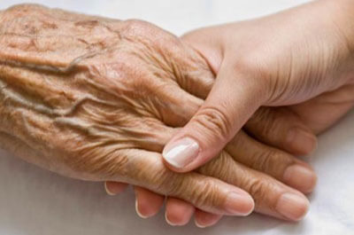 Hold hands With the Elderly - In Home Aged Care - ESP Healthcare
