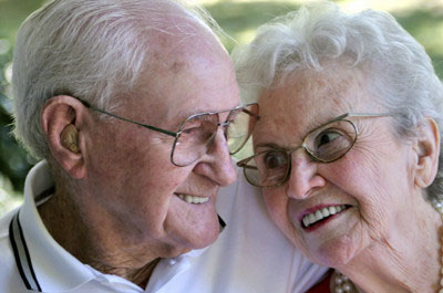 Happy Elderly Couple - In Home Aged Care - ESP Healthcare