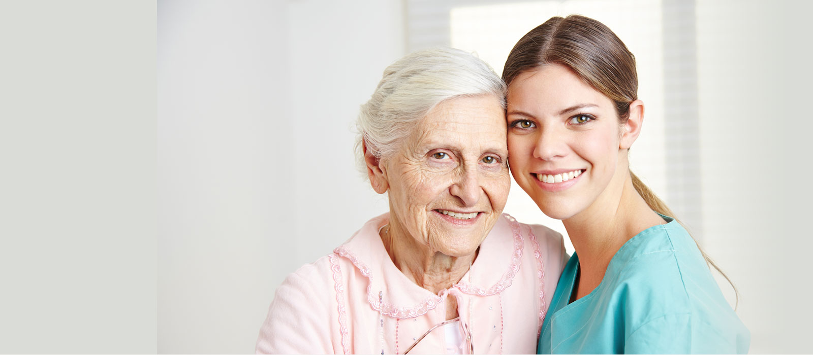 Smiling Female Caregiver And Elderly Woman - Sydney Home Care - ESP Healthcare