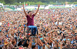 Man In Wheelchair At Concert - Care For Disabled - ESP Healthcare