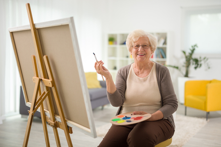 aged care enrichment painting
